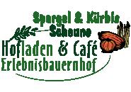Spargel und Kürbis Scheune